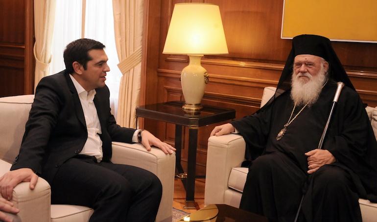 tsipras-arxiepiskopos