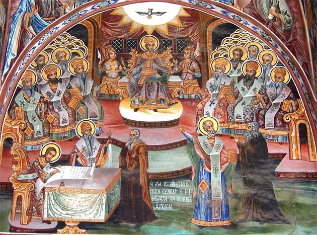 Αποτέλεσμα εικόνας για Κυριακή των 318 Αγίων Πατέρων
