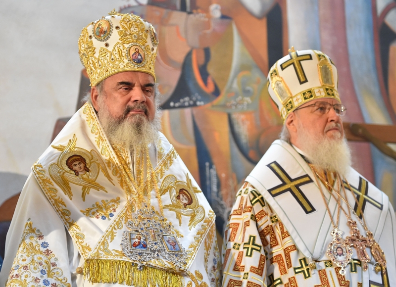 Patriarch Daniel and Patriarch Kirill
