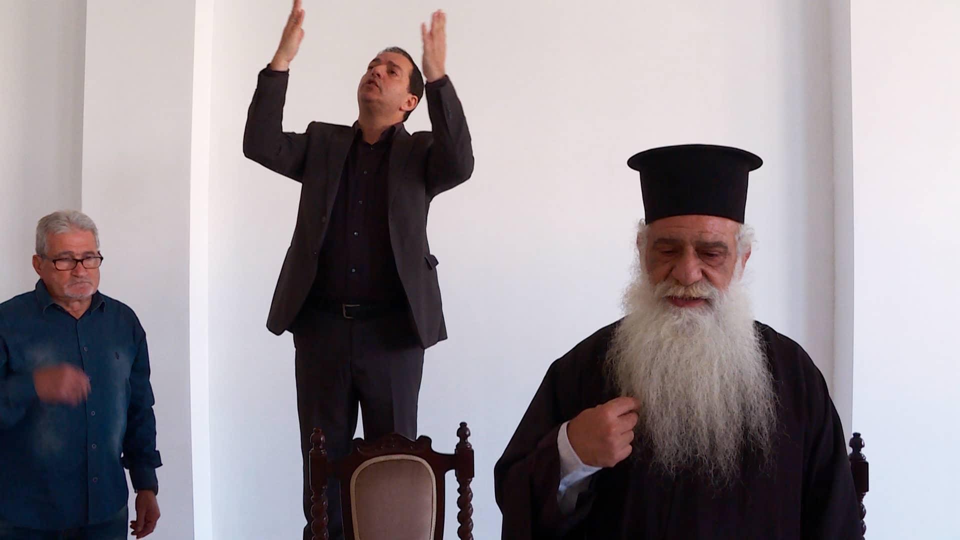 Θεία Λειτουργία στην νοηματική γλώσσα στη Λακατάμεια Κύπρου (ΦΩΤΟ)
