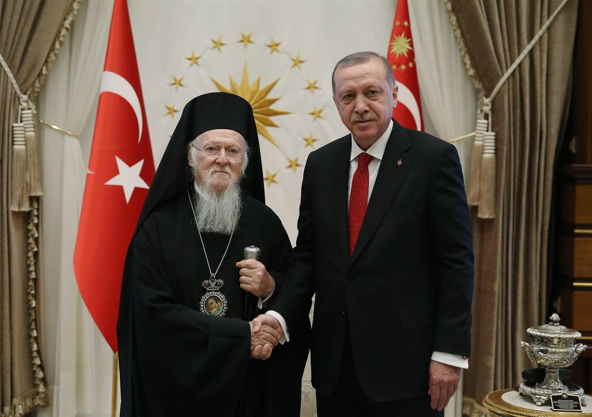erdogan oikoumenikos