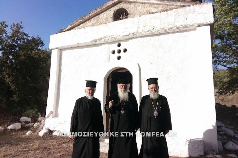 Ο Αρχιεπίσκοπος στον Ιερό Ναό Παλαιοπαναγιάς Κάτω Στενής