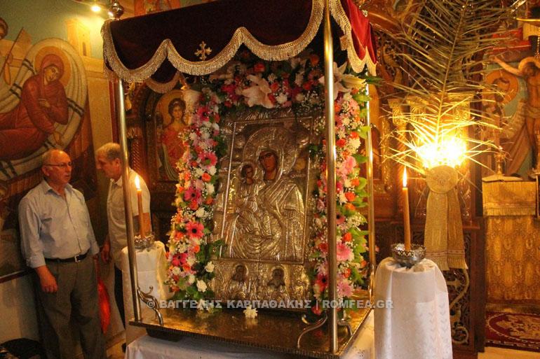 Α χαιρετισμοι 2019 Facebook: Η εορτή της Παναγίας Άξιον Εστί στο Αιγάλεω (ΦΩΤΟ