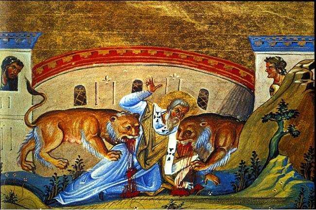 Ο Άγιος Ιγνάτιος ο Θεοφόρος