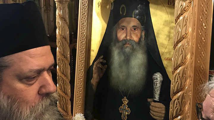 Ο Ηγούμενος της Μονής Οσίου Δαυίδ για τον Άγιο Ιάκωβο Τσαλίκη