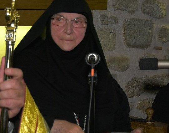 Εκοιμήθη η Καθηγουμένη της Ι.Μ. Ρουσάνου Φιλοθέη